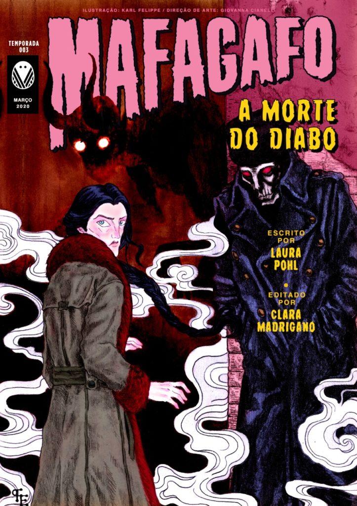 Capa Março Mafagafo: A morte do diabo