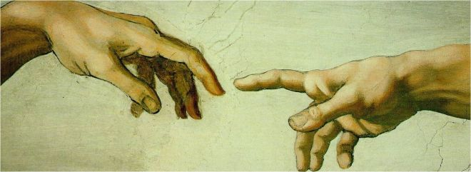 Capela Sistina (Detalhe), Michelangelo.